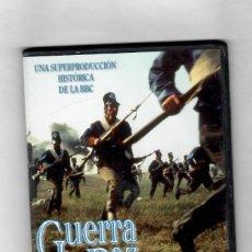 Series de TV: GUERRA Y PAZ-BASADA EN LA OBRA DE LEÓN TOLSTOI -TERCERA PARTE - NUEVO A ESTRENAR-ESTUCHE CAJA SLIM. Lote 181151095