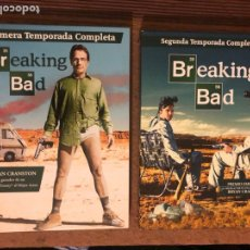 Series de TV: BREAKING BAD (SERIE TV HBO). 1ª Y 2ª TEMPORADA.. Lote 181430178