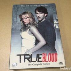 Series de TV: COFRE 8 DVD TRUE BLOOD HBO IMPORTACIÓN V.O. SANGRE FRESCA TEMPORADAS 1 Y 2 . Lote 181445228