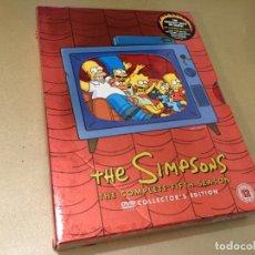 Series de TV: PACK 4 DVD THE SIMPSONS FIFTH SEASON IMPORTACIÓN V.O. LOS SIMPSON 5ª QUINTA TEMPORADA. Lote 181457703