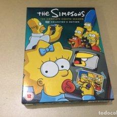 Series de TV: PACK 4 DVD THE SIMPSONS EIGHTH SEASON IMPORTACIÓN V.O. LOS SIMPSON 8ª OCTAVA TEMPORADA. Lote 181458525