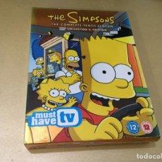 Series de TV: PACK 4 DVD THE SIMPSONS TENTH SEASON IMPORTACIÓN V.O. LOS SIMPSON 10ª DECIMA TEMPORADA. Lote 181459330