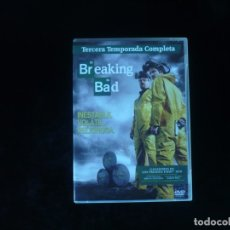 Series de TV: BREAKING BAD TERCERA TEMPORADA COMPLETA - DVD COMO NUEVOS. Lote 181609927
