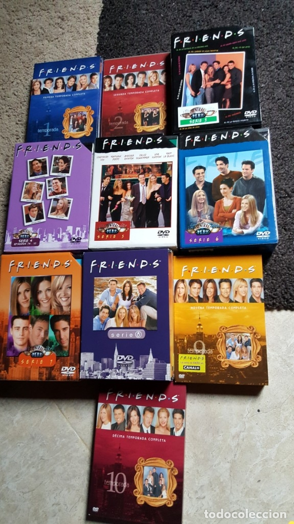 Series de TV: FRIENDS SERIE DVD 10 TEMPORADAS COMPLETAS JENNIFER ANISTON COURTENEY COX - Foto 2 - 181952562