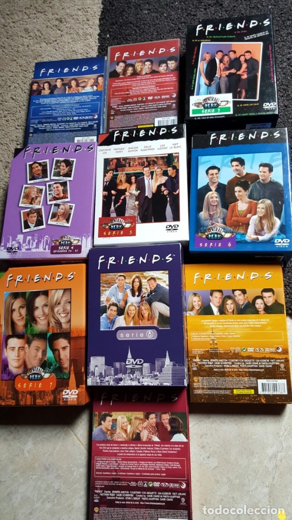 Series de TV: FRIENDS SERIE DVD 10 TEMPORADAS COMPLETAS JENNIFER ANISTON COURTENEY COX - Foto 3 - 181952562