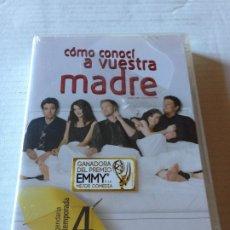 Séries TV: PACK COMO CONOCI A VUESTRA MADRE - 4 CUARTA TEMPORADA COMPLETA EN DVD - 3 DVDS. SERIE DE TELEVISION. Lote 182037826