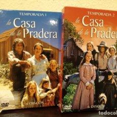Series de TV: LA CASA DE LA PRADERA -1ª Y 2ª TEMPORADAS COMPLETAS- DESCATALOGADA. Lote 182242636