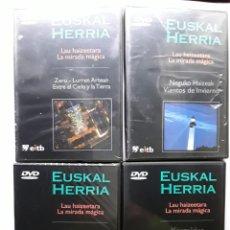 Series de TV: 4 DVD DE LA MIRADA MAGICA DE EITB . Lote 182285543