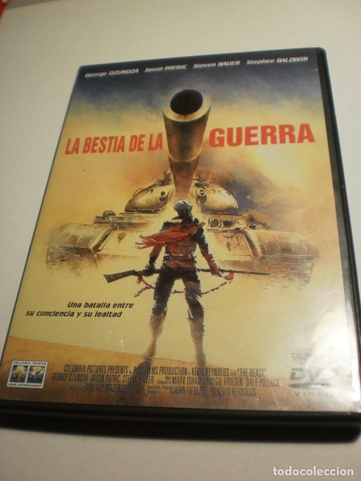 DVD LA BESTIA DE LA GUERRA. GEORGE DZUNDZA. 101 MIN CON LIBRETO (BUEN ESTADO) (Series TV en DVD)