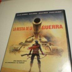 Serie di TV: DVD LA BESTIA DE LA GUERRA. GEORGE DZUNDZA. 101 MIN CON LIBRETO (BUEN ESTADO). Lote 182533141