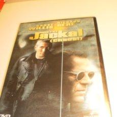 Series de TV: DVD THE JACKAL (CHACAL) BRUCE WILLIS. RICHARD GERE. 120 MIN (PRECINTADA). Lote 182533590