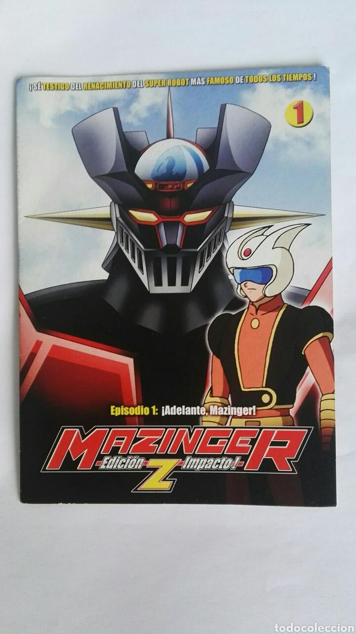 MAZINGER Z EPISODIO 1 DVD (Series TV en DVD)