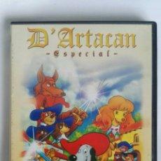 Series de TV: D'ARTACAN ESPECIAL DVD DIBUJOS ANIMADOS EGB. Lote 182550057