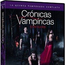 Series de TV: CRÓNICAS VAMPÍRICAS - 5ª TEMPORADA (THE VAMPIRE DIARIES). Lote 154647189