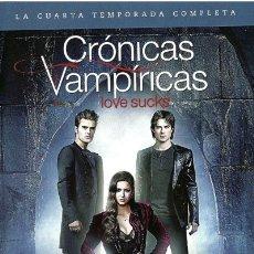 Series de TV: CRÓNICAS VAMPÍRICAS - 4ª TEMPORADA (THE VAMPIRE DIARIES). Lote 154647193
