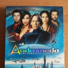 Series de TV: ANDROMEDA THE COMPLETE 1-5 SEASON - GENE RODDENBERRY - DVD SCIENCE FICTION CIENCIA FICCIÓN. Lote 182870126