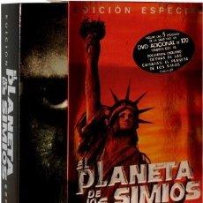 Series de TV: EL PLANETA DE LOS SIMIOS EDICION ESPECIAL 6 DVD CON LAS 5 PELICULAS Y 1 DOCUMENTAL ***. Lote 182872466