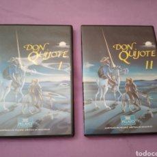Series de TV: DVD. DON QUIJOTE I Y II. RECOPILATORIO DE LA MÍTICA SERIE EN 180 MINUTOS.. Lote 182887695