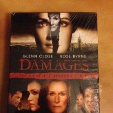 Series de TV: TV SERIES DAMAGES THE COMPLETE SEASON 1 & 2 ORIGINAL EN INGLES. Lote 182905766