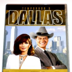 Series de TV: DALLAS (T3 - 8 DISCOS) - LARRY HAGMAN PATRICK DUFFY VICTORIA PRINCIPAL DVD DESCATALOGADA. Lote 182912532