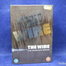 Series de TV: THE WIRE - THE COMPLETE SERIES - DVD - IDIOMAS ENGLISH - FRECH . Lote 183467265