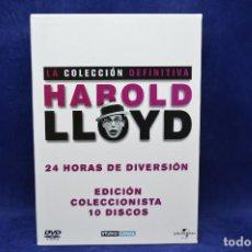 Series de TV: HAROLD LLOYD - LA COLECCION DEFINITIVA - DVD . Lote 183468496