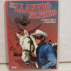 Series de TV: EL LLANERO SOLITARIO - CLAYTON MOORE - 6 EPISODIOS -DVD - 2003 - SPAIN - EX+/NM+. Lote 183543786