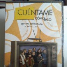Series de TV: DVD SERIE CUÉNTAME CÓMO PASÓ 7°TEMPORADA PRECINTADOS. Lote 183564271