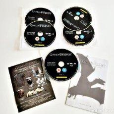 Series de TV: JUEGO DE TRONOS: LA TERCERA TEMPORADA COMPLETA (DVD, CONJUNTO DE 5 DISCOS). Lote 183567358