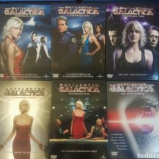Series de TV: SERIE COMPLETA DVD GALÁCTICA - LAS 5 TEMPORADAS + MINISERIE. Lote 183817792