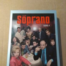 Series de TV: LOS SOPRANO TEMPORADA 4 - 4DVD. Lote 183825658