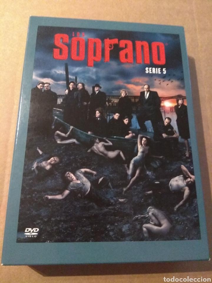 LOS SOPRANO TEMPORADA 5 - 4DVD (Series TV en DVD)