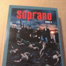 Series de TV: LOS SOPRANO TEMPORADA 5 - 4DVD. Lote 183825918