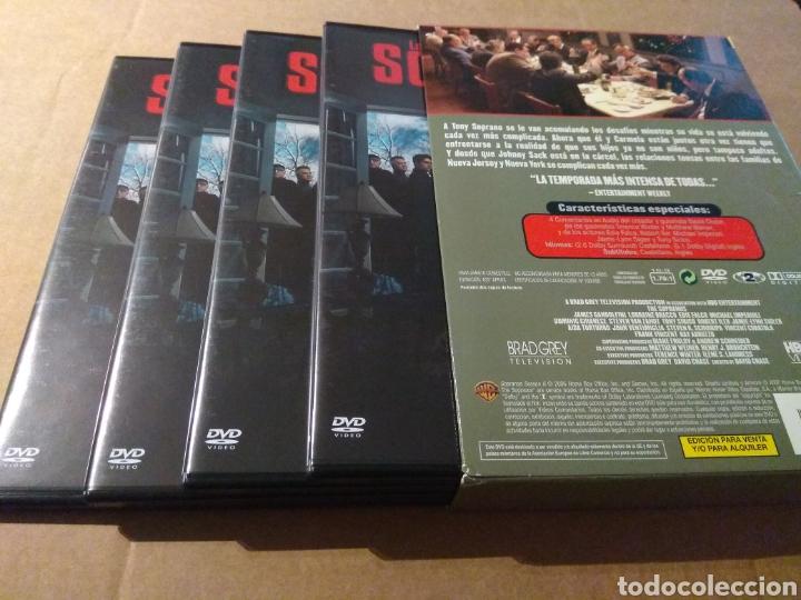 Series de TV: LOS SOPRANO TEMPORADA 6 - 4DVD - Foto 3 - 183826203