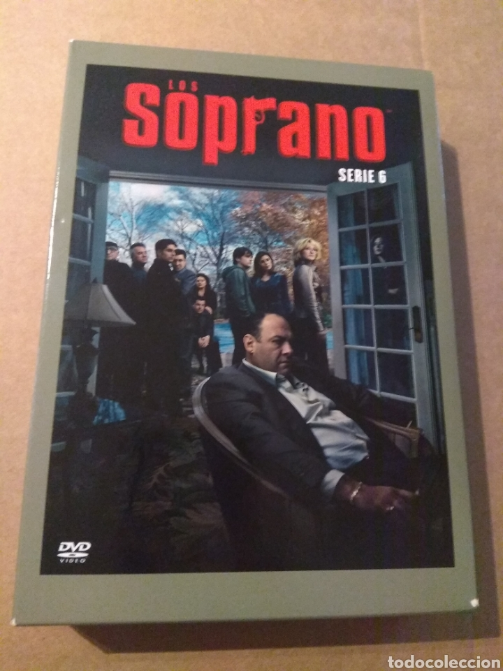 LOS SOPRANO TEMPORADA 6 - 4DVD (Series TV en DVD)
