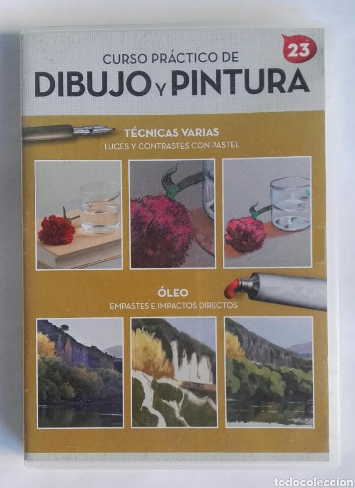 CURSO PRÁCTICO DE DIBUJO Y PINTURA 23 DVD (Series TV en DVD)