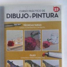 Series de TV: CURSO PRÁCTICO DE DIBUJO Y PINTURA 23 DVD. Lote 183868567