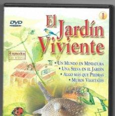 Series de TV: EL JARDIN VIVIENTE EN 4 DVD´S - SERIE TV COMPLETA - AÑO 2003 - NATURALEZA INFANTIL -. Lote 184442881