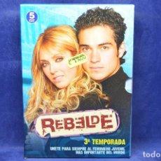 Séries TV: REBELDES - DVD - TERCERA TEMPORADA . Lote 184459247