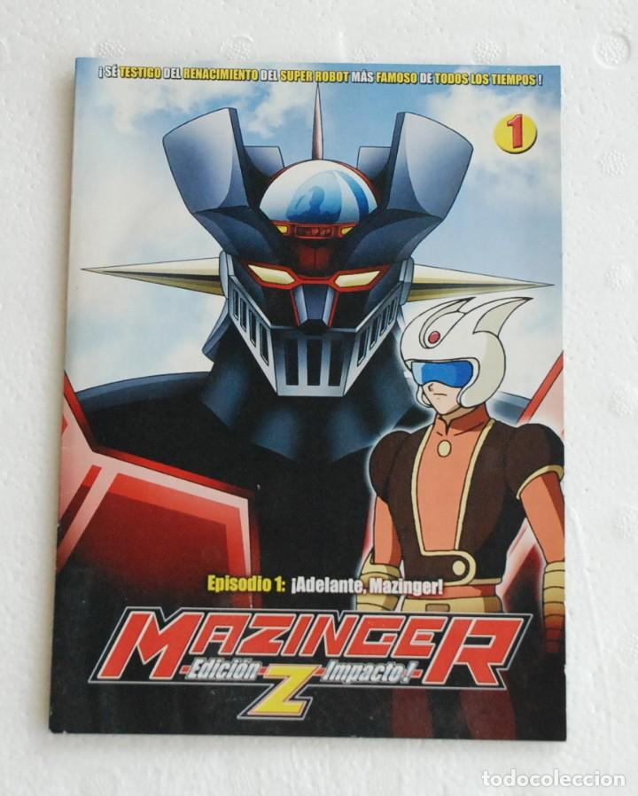 DVD MAZINGER Z EDICION IMPACTO EPISODIO 1 (Series TV en DVD)