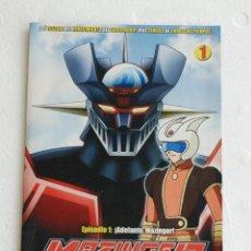 Series de TV: DVD MAZINGER Z EDICION IMPACTO EPISODIO 1. Lote 184582417