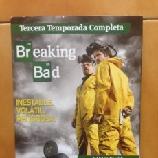 Series de TV: SERIE TV BREAKING BAD -TERCERA TEMPORADA 3 - DVD. Lote 184630710