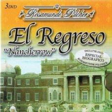 Series de TV: EL REGRESO ¨NANCHERROW¨ ROSAMUNDE PILCHER ( 3 DVD). Lote 184807283