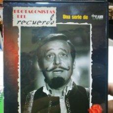 Series de TV: DVD PROTAGONISTAS DEL RECUERDO JESUS PUENTE TVE. Lote 185269605