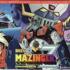 Series de TV: DVD MAZINGER Z, BOX Nº 8: CONTIENE 3 DVDS, EPISODIOS DEL 81 AL 92 - PRECINTADO. Lote 185722947