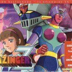 Series de TV: DVD MAZINGER Z, BOX Nº 7: CONTIENE 3 DVDS, EPISODIOS DEL 69 AL 80 - PRECINTADO. Lote 185723028