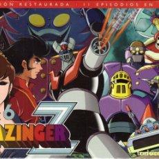 Series de TV: DVD MAZINGER Z, BOX Nº 6 : CONTIENE 3 DVDS, EPISODIOS DEL 58 AL 68 - PRECINTADO. Lote 185723073