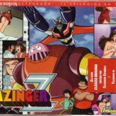 Series de TV: DVD MAZINGER Z, BOX Nº 5: CONTIENE 3 DVDS, EPISODIOS DEL 47 AL 57 - PRECINTADO. Lote 185723125