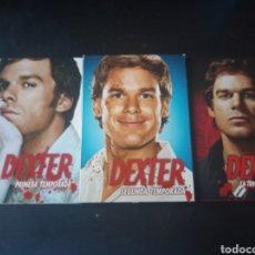 Series de TV: DVD. DEXTER. PRIMERA SEGUNDA Y TERCERA TEMPORADA.. Lote 185994092