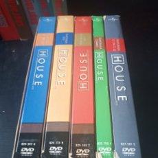 Series de TV: DVD. HOUSE. TEMPORADAS 1 A 5.. Lote 185995358